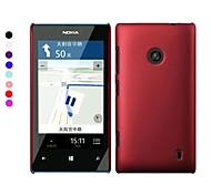 Pajiatu Mobile Phone Hard PC Back Cover Case Shell for Nokia Lumia 525(Assorted Colors)