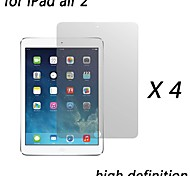 [4-Pack] Premium High Definition Clear Screen Protectors for iPad air 2