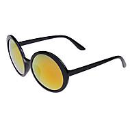 anti-reflexo de alumínio redonda óculos de sol leves