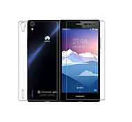 Pajiatu Explosion Proof Tempered Glass Mobile Phone Screen Protector Film Guard for Huawei Ascend P7 Back+Front Film