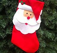meias de natal com grandes 2pcs tamanho