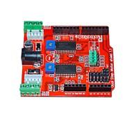 Robatale l293b совместимый с двигателем экранный модуль для arduino - красный (7v)