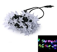 5M 12W 50-LED RGB Light LED Christmas Light Decoration 5 Stars Lamp LED String Light (220V)