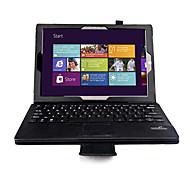 pbook 12 pulgadas cubierta de la caja de la tableta de la PU de cuero con teclado bluetooth para pro3 superficie