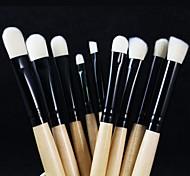 Professional Makeup Brushes Set 9pcs Eye Brushes set Eyeliner Eyeshadow Eyebrow Blending Contour Brush
