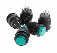 Self-Locking Button Switch w/ Indicator Light  (5pcs)