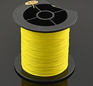 200M / 220 Yards PE Braided Line / Dyneema / Superline Fishing Line Yellow 28LB 0.23 mm ForSea Fishing / Fly Fishing / Bait Casting /