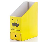 Cute Cartoon Beard With Drawer Paper Organizer Box