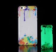 Graffiti Pattern Glow in the Dark Hard Case for iPhone 6