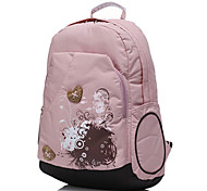 "Yeso 14"" Female Travel Backpack Laptop Bag"