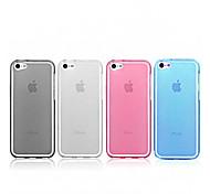 Ultradünne transparente Jelly Silikon Tasche für iPhone 4/4S (Farbe sortiert)