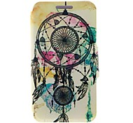 Kinston® Dreamcatcher Pattern PU Leather Full Body Case with Stand for Nokia Lumia 630/635