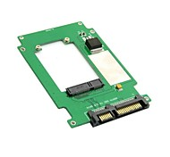 "50mm Mini-PCI-e mSATA SSD 2,5 ""SATA 22pin Festplatte Konverter Adapter pcba"
