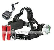 Luci Luci bici LED 1600 Lumens 3 Modo Cree XM-L T6 18650 Ricaricabile / AngolareCampeggio/Escursionismo/Speleologia / Uso quotidiano /