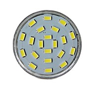 JUXIANG GU10 7W 21 SMD 5730 450 LM Cool White MR16 Decorative LED Spotlight AC 220-240 V