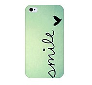 modello di colore gradiente posteriore Case for iPhone 4 / 4s