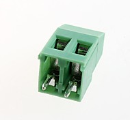 terminais PCB terminais de parafuso kf129-2p passo 5,08 milímetros (10pcs)
