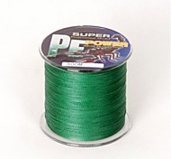 300M / 330 Yards PE Braided Line / Dyneema / Superline Fishing Line Green 45LB 0.3 mm ForSea Fishing / Fly Fishing / Bait Casting / Ice