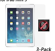 [3-pack] hd anti-huella digital protector de pantalla resistente para el mini iPad 3