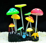 fluorescente fungo decorazione ornamento per acquario