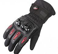 invierno pro-biker ™ cálidos a prueba de viento impermeables de protección de carreras dedo completo guantes de moto guantes moto