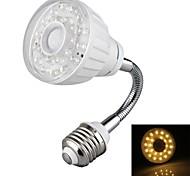 Focos Sensor OEM E26/E27 2 W 23 LED Dip 120-160 LM Blanco Cálido AC 100-240 V