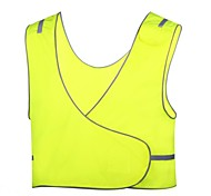 Men's Fluorescent Safety Reflective Cycling Vest