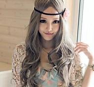 Harajuku Stil grauen lockigen lolita Perücke