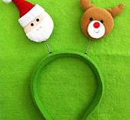 Christmas Santa Claus and Bear Headband(6pcs)
