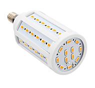 15W E14 Bombillas LED de Mazorca T 60 SMD 5730 1000 lm Blanco Cálido AC 100-240 V