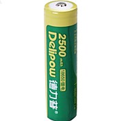 1PCS Delipow 18650 3.7V 2500mAh Nickel-Cadmium Battery
