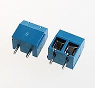 bloque de terminales kf301-2p 300v16a fuente de alimentación de 5,08 mm (10 piezas)