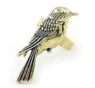 Fashion Retro Alloy Bird Rings Random Color