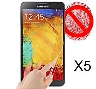 Matte Screen Protector for Samsung Galaxy Galaxy Note 3(5pcs)
