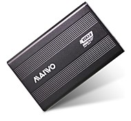 maiwo k2501au3s usb 3.0 sata hdd recinto disco rígido externo com software de backup inteligente