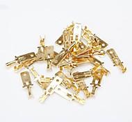 dérouter amplificateur de puissance terminaux de cosse de câble / bornes de l'adaptateur de la boîte - or (95-pack)