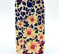 Leopard Chrysanthemum Pattern TPU Soft Case for S4 I9500