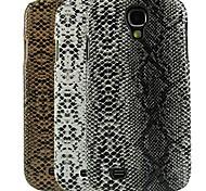 caso duro del patrón de diseño de la piel de serpiente para i9500 Samsung Galaxy S4 (colores surtidos)
