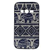 patrón de vuelta elefante cubierta del caso para Samsung Galaxy Ace 4 g313h