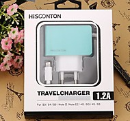 HISCONTON/MCH-226-I5 Car Charger for iPhone5/5S and Other Cellphone 1M(5V,1.2A)