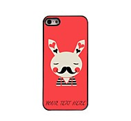 Personalized Phone Case - Rabbit Design Metal Case for iPhone 5/5S