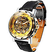 Personalized Fashionable Men's Watch Mechanical Hollow Engraving