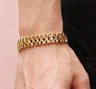 Flower Modelling Copper Plating 18 K Man Bracelet Christmas Gifts