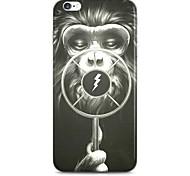 patrón mono cala caso duro para el iphone 6