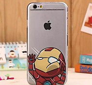 Hit Face Pattern PC Hard Back Cover for iPhone 6s 6 Plus