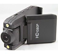 Full HD 3.0MP Wide Angle Car DVR Camcorder w/ 2-LED IR Night Vision HDMI TF Slot with 2LED