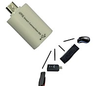 Micro USB Host Male to USB Female OTG Adapter Android Tablet PC and Phone