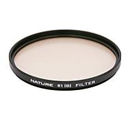 natureza 81b 58 milímetros filtro de correção de cor