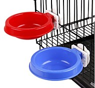 Suspension Type Round Bowl for Pet Dogs(Random Colour)Middle Size