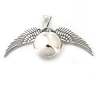 Wing Wrecking Ball Silver Zinc Alloy Shining Harry Pendant Only (1 Piece)